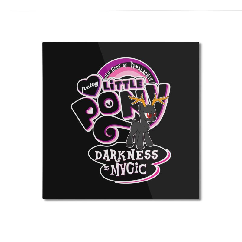 Old Gods of Appalachia: Petty Little Pony: LIMITED EDITION Home Mounted Aluminum Print by OLD GODS OF APPALACHIA