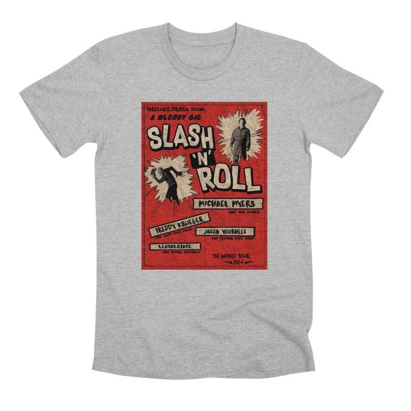 Slash And Roll Men's Premium T-Shirt by oldtee's Artist Shop