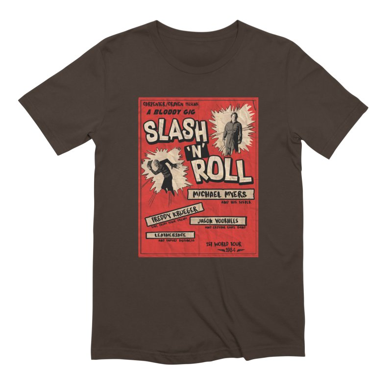 Slash And Roll Men's Extra Soft T-Shirt by oldtee's Artist Shop