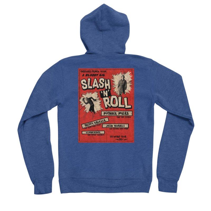 Slash And Roll Women's Sponge Fleece Zip-Up Hoody by oldtee's Artist Shop