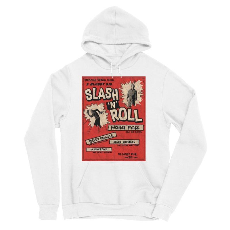 Slash And Roll Women's Sponge Fleece Pullover Hoody by oldtee's Artist Shop