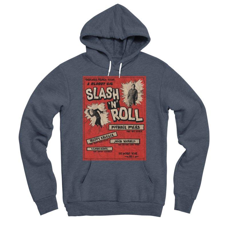 Slash And Roll Men's Sponge Fleece Pullover Hoody by oldtee's Artist Shop