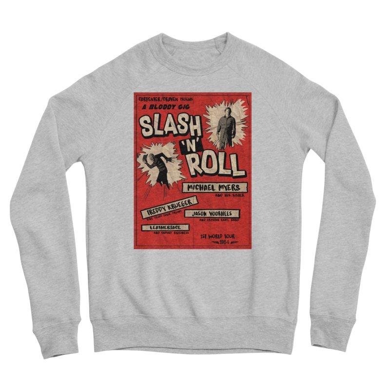 Slash And Roll Women's Sponge Fleece Sweatshirt by oldtee's Artist Shop