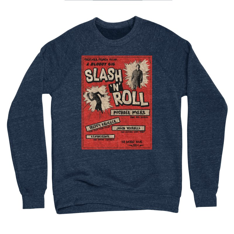 Slash And Roll Men's Sponge Fleece Sweatshirt by oldtee's Artist Shop