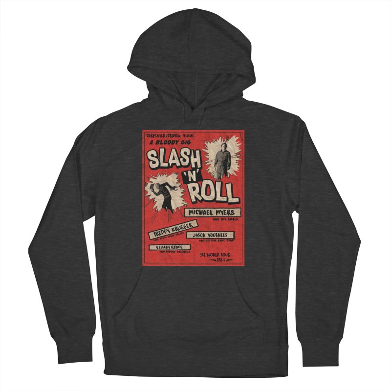Slash And Roll Men's French Terry Pullover Hoody by oldtee's Artist Shop