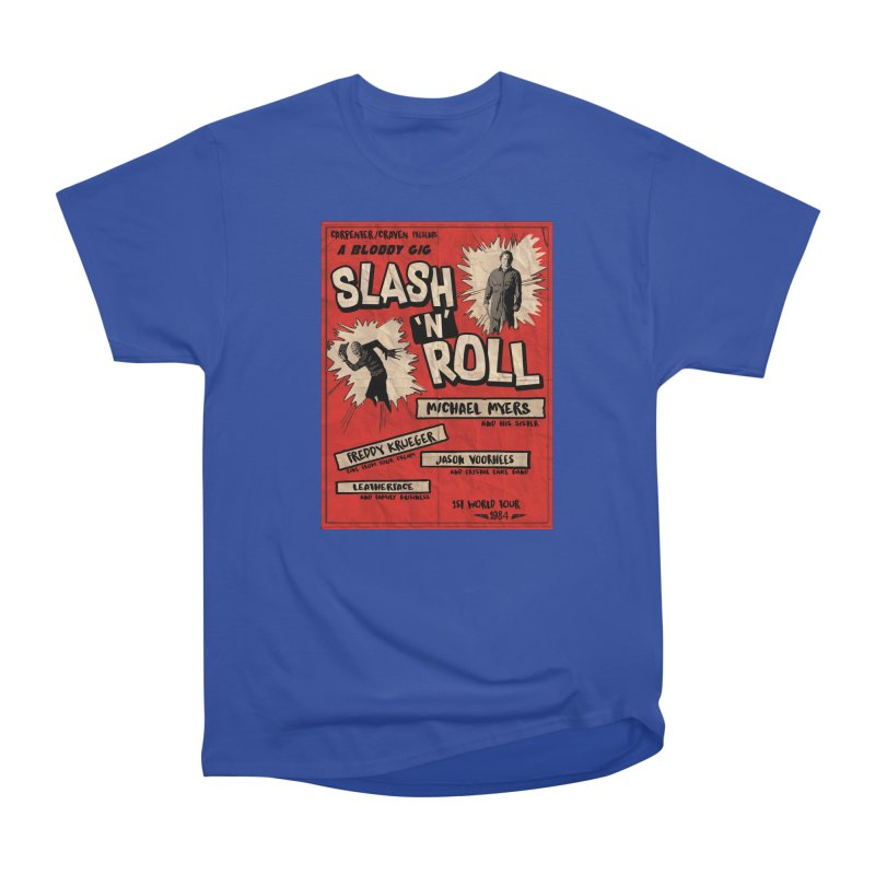 Slash And Roll Women's Heavyweight Unisex T-Shirt by oldtee's Artist Shop