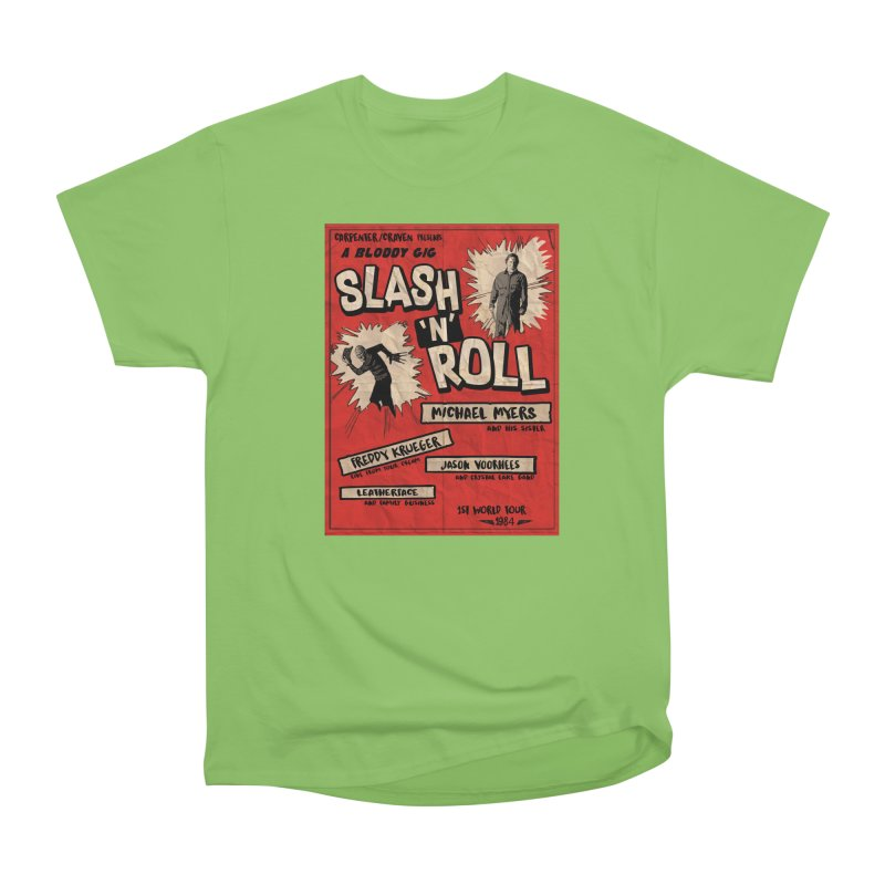 Slash And Roll Men's Heavyweight T-Shirt by oldtee's Artist Shop