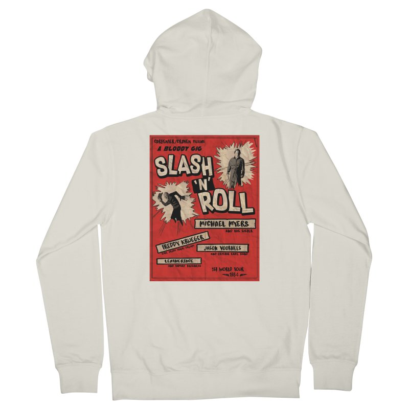 Slash And Roll Women's French Terry Zip-Up Hoody by oldtee's Artist Shop