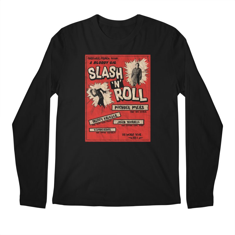 Slash And Roll Men's Regular Longsleeve T-Shirt by oldtee's Artist Shop