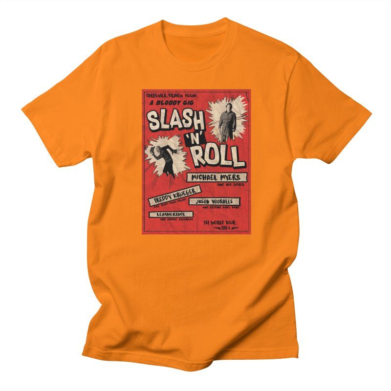 Slash And Roll Men's T-Shirt by oldtee's Artist Shop