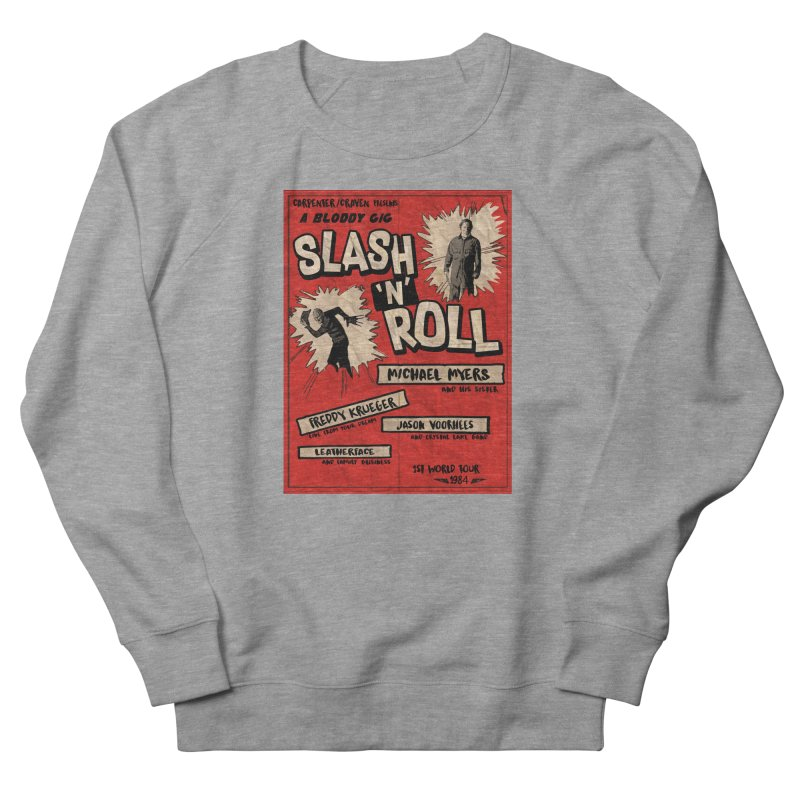 Slash And Roll Women's French Terry Sweatshirt by oldtee's Artist Shop