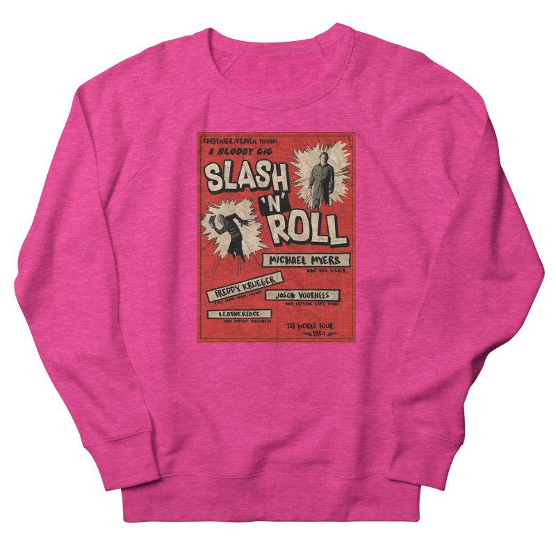 Slash And Roll Men's French Terry Sweatshirt by oldtee's Artist Shop