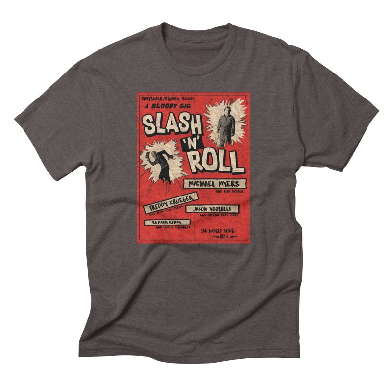 Slash And Roll Men's Triblend T-Shirt by oldtee's Artist Shop