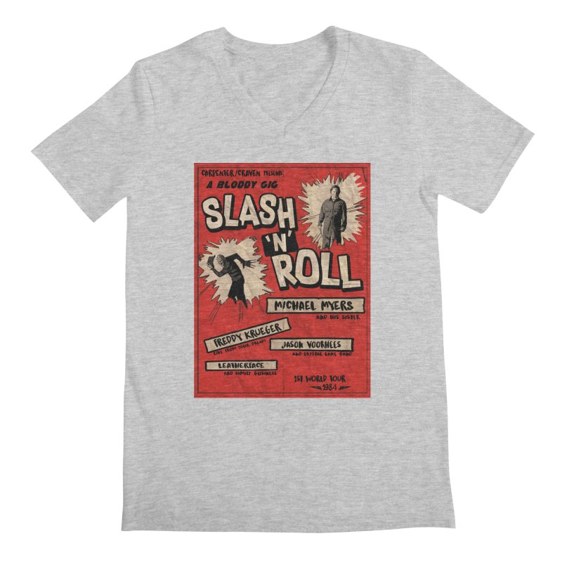 Slash And Roll Men's Regular V-Neck by oldtee's Artist Shop