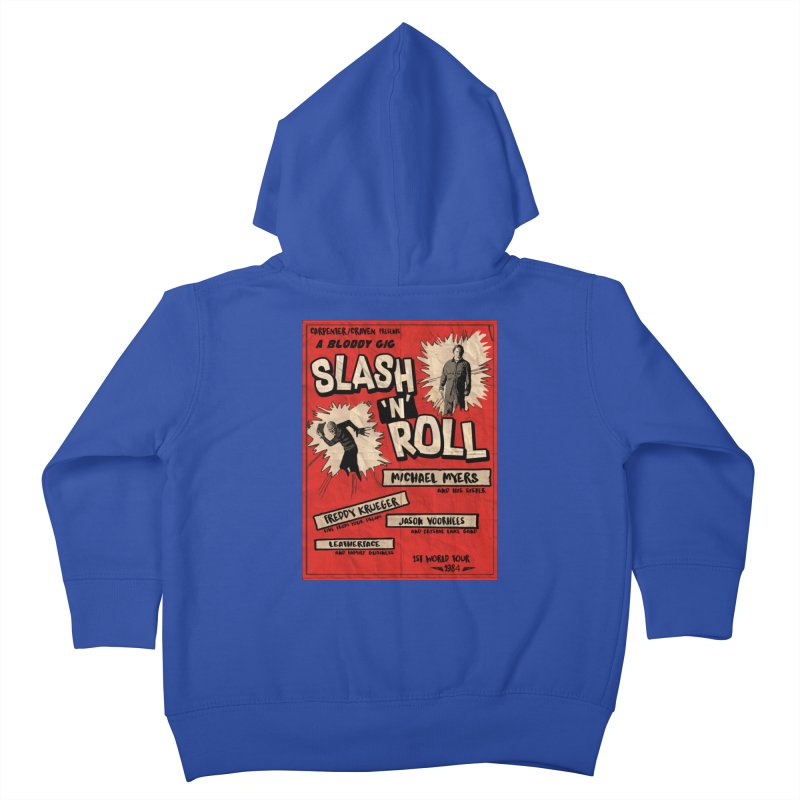 Slash And Roll Kids Toddler Zip-Up Hoody by oldtee's Artist Shop