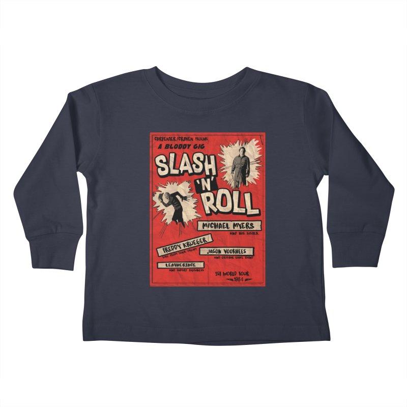 Slash And Roll Kids Toddler Longsleeve T-Shirt by oldtee's Artist Shop