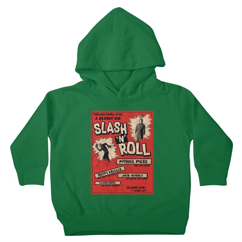 Slash And Roll Kids Toddler Pullover Hoody by oldtee's Artist Shop