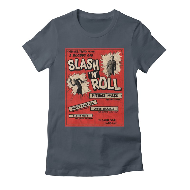 Slash And Roll Women's T-Shirt by oldtee's Artist Shop