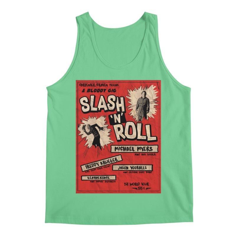 Slash And Roll Men's Regular Tank by oldtee's Artist Shop