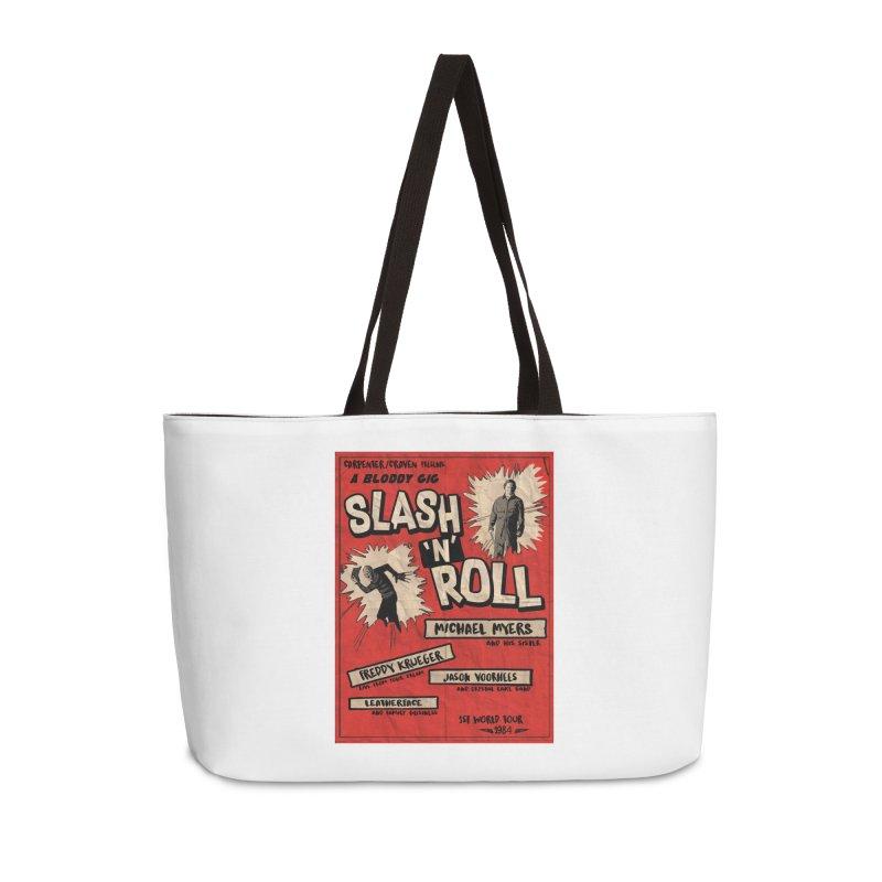 Slash And Roll Accessories Weekender Bag Bag by oldtee's Artist Shop