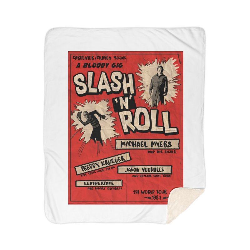 Slash And Roll Home Blanket by oldtee's Artist Shop