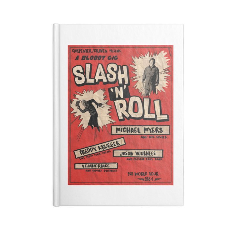 Slash And Roll Accessories Lined Journal Notebook by oldtee's Artist Shop
