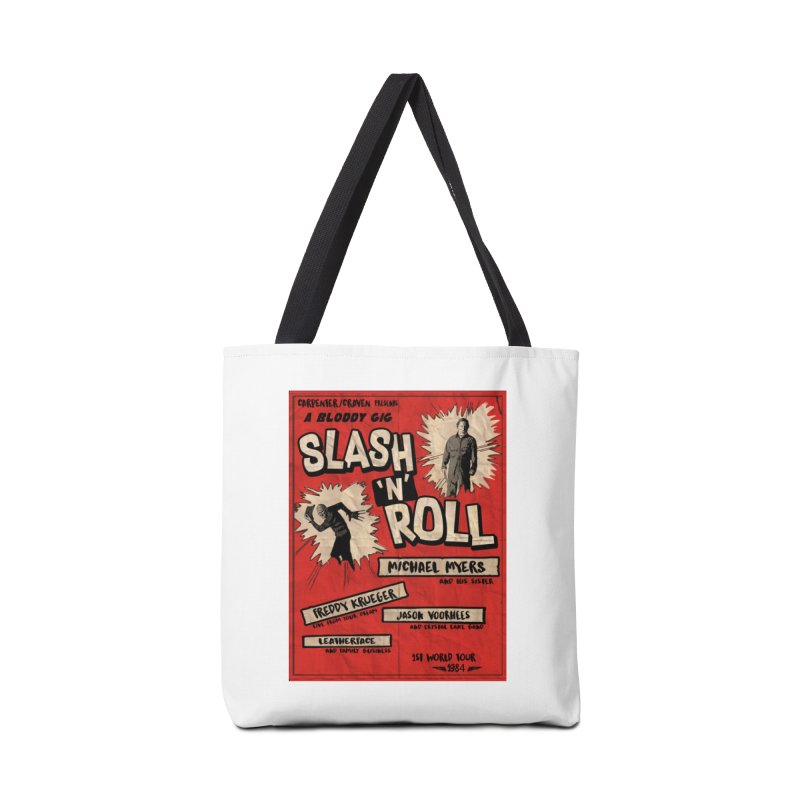 Slash And Roll Accessories Tote Bag Bag by oldtee's Artist Shop