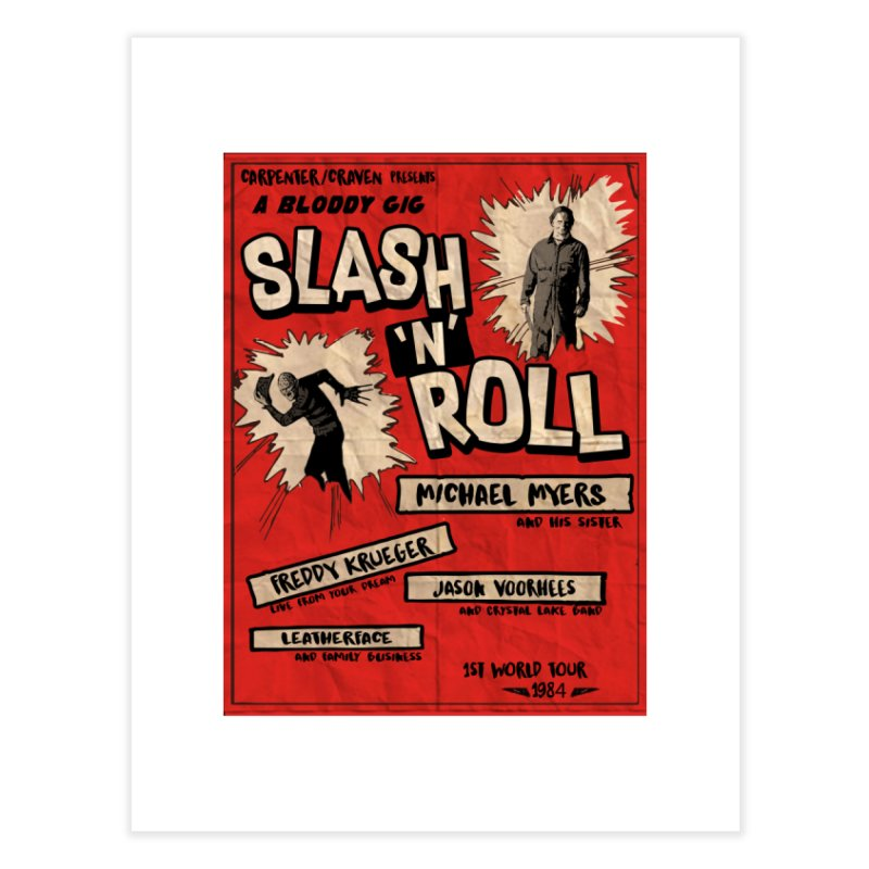 Slash And Roll Home Fine Art Print by oldtee's Artist Shop