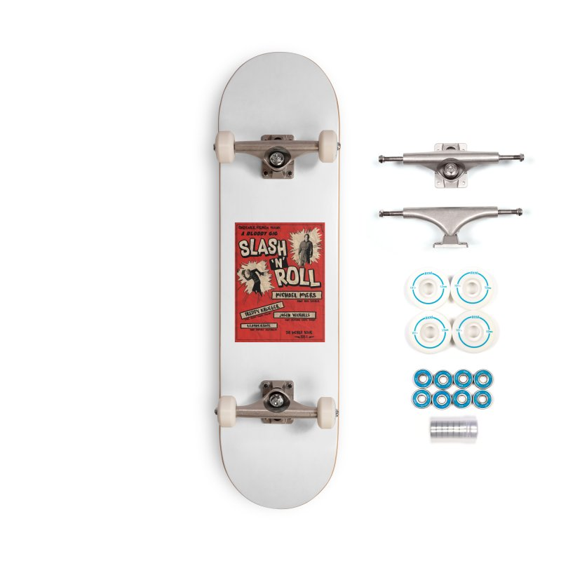 Slash And Roll Accessories Complete - Basic Skateboard by oldtee's Artist Shop