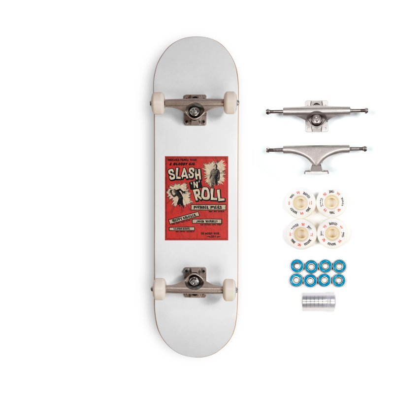 Slash And Roll Accessories Complete - Premium Skateboard by oldtee's Artist Shop