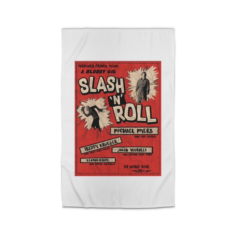 Slash And Roll Home Rug by oldtee's Artist Shop