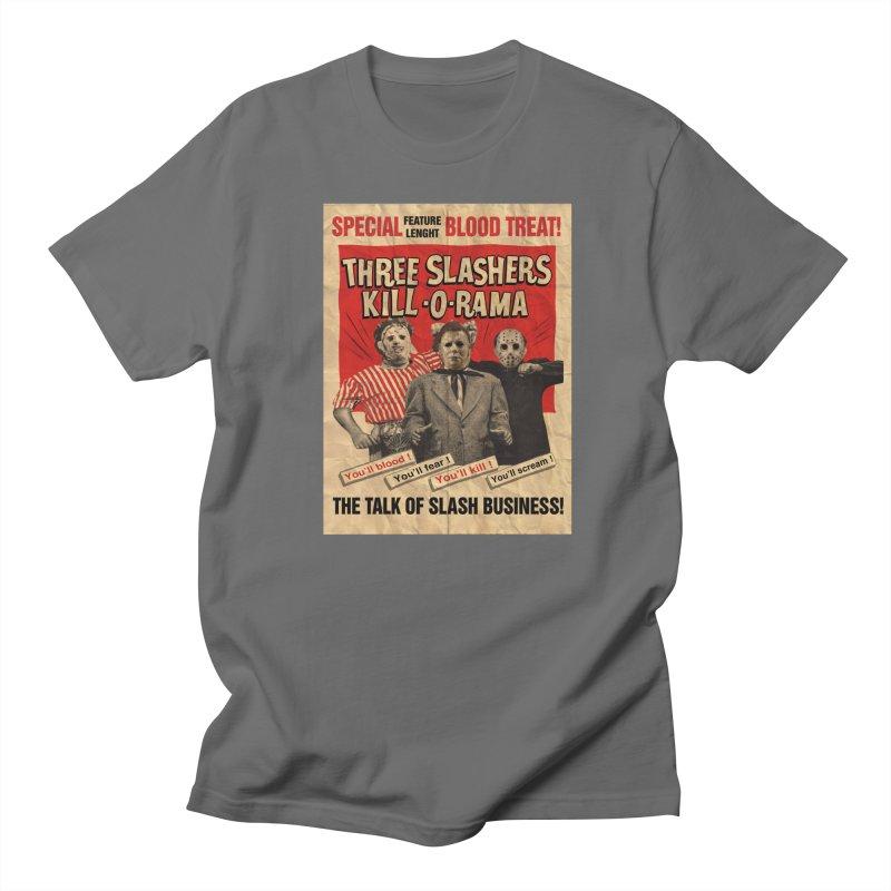 Slash-O-Rama Men's T-Shirt by oldtee's Artist Shop