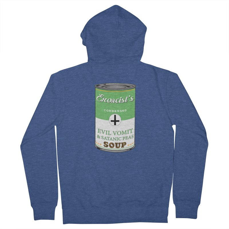Exorcist's soup Men's Zip-Up Hoody by oldtee's Artist Shop