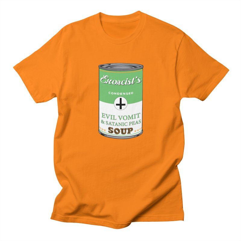 Exorcist's soup Men's T-Shirt by oldtee's Artist Shop