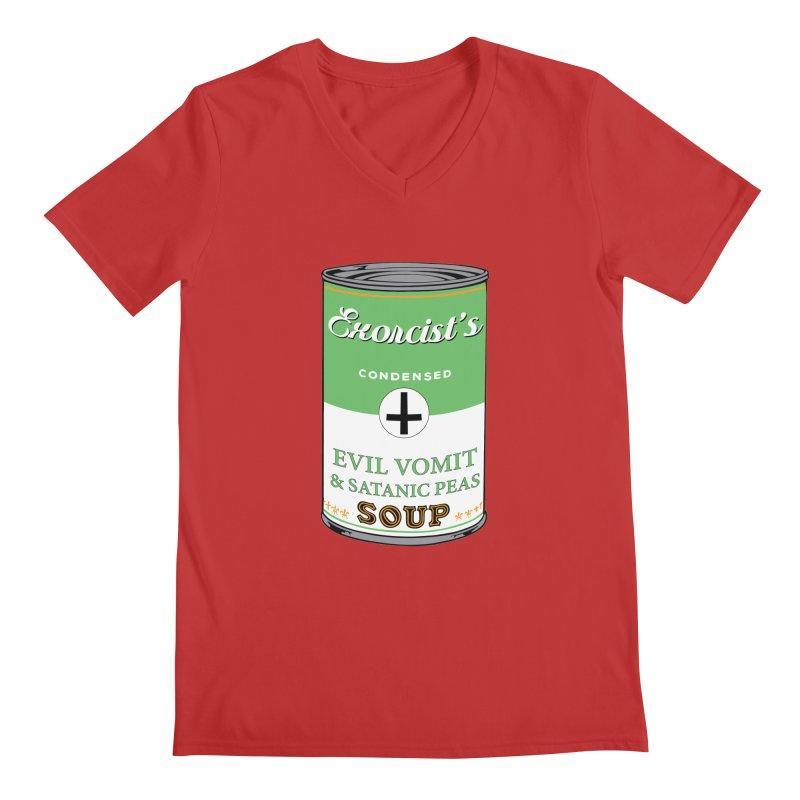Exorcist's soup Men's V-Neck by oldtee's Artist Shop