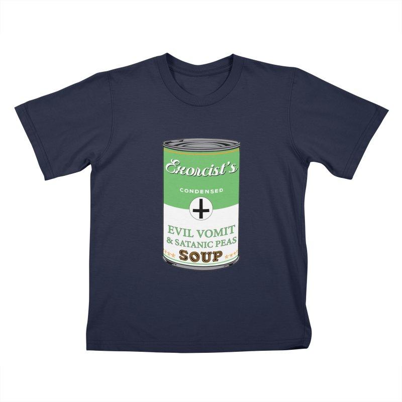 Exorcist's soup Kids T-Shirt by oldtee's Artist Shop