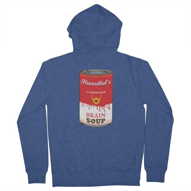 Hannibal's soup Men's Zip-Up Hoody by oldtee's Artist Shop