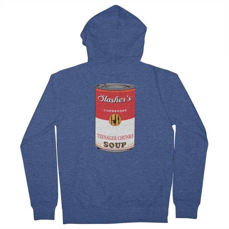 Slasher's soup Men's Zip-Up Hoody by oldtee's Artist Shop