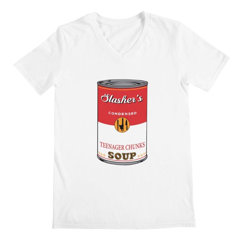 Slasher's soup Men's V-Neck by oldtee's Artist Shop