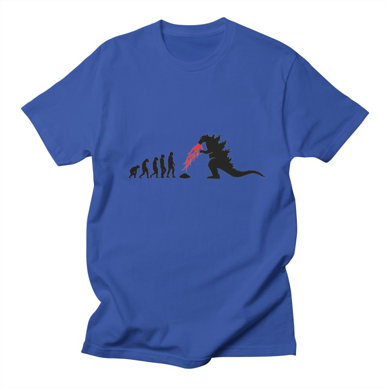 Evolution Godzilla Men's T-Shirt by oldtee's Artist Shop