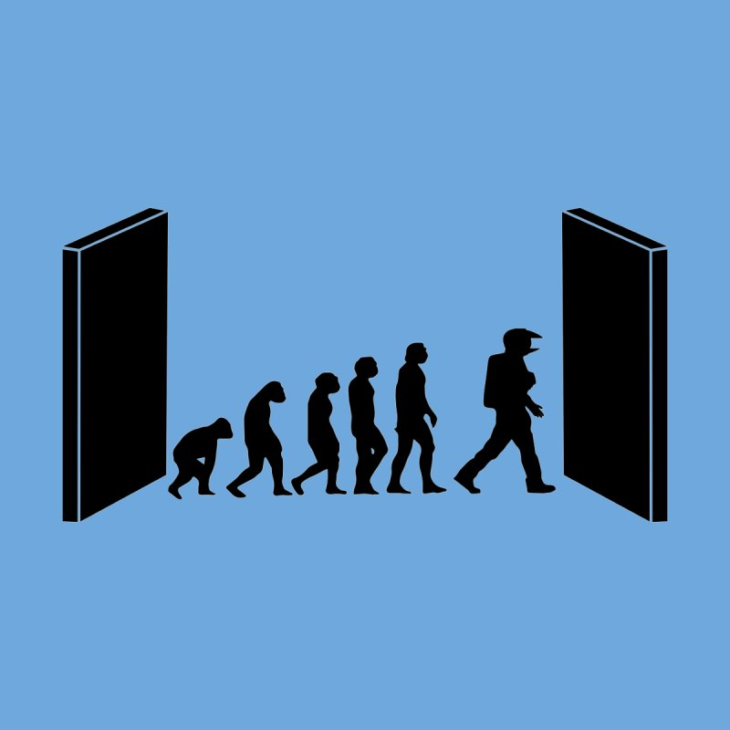 Evolution by Kubrick Men's T-Shirt by oldtee's Artist Shop
