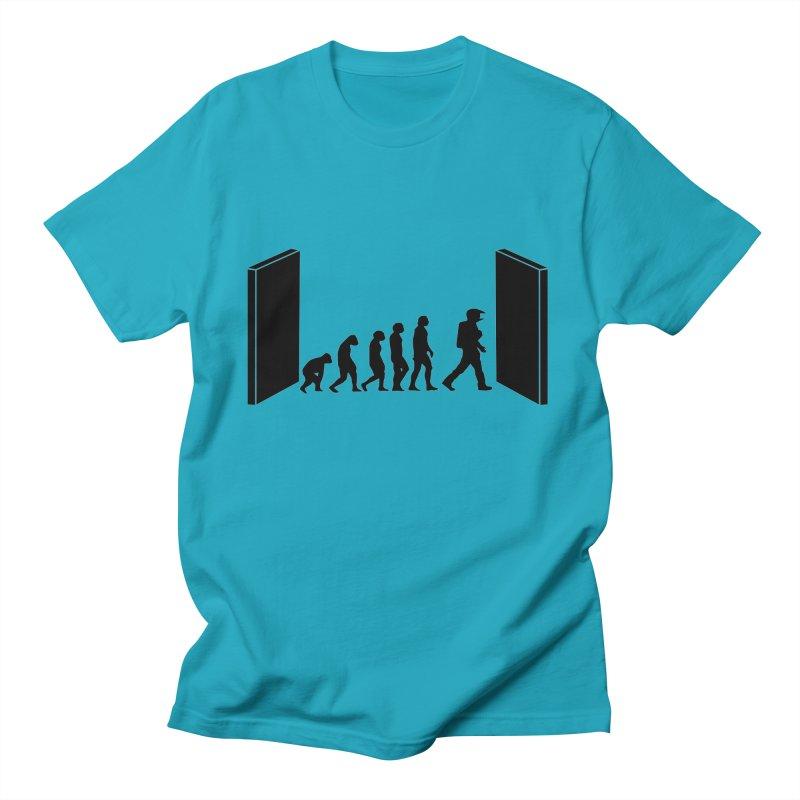 Evolution by Kubrick Men's T-Shirt by oldtee's Artist Shop