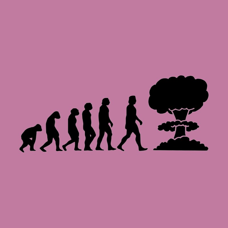 Evolution ends Nuclear by oldtee's Artist Shop