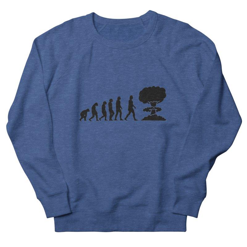 Evolution ends Nuclear Men's Sweatshirt by oldtee's Artist Shop