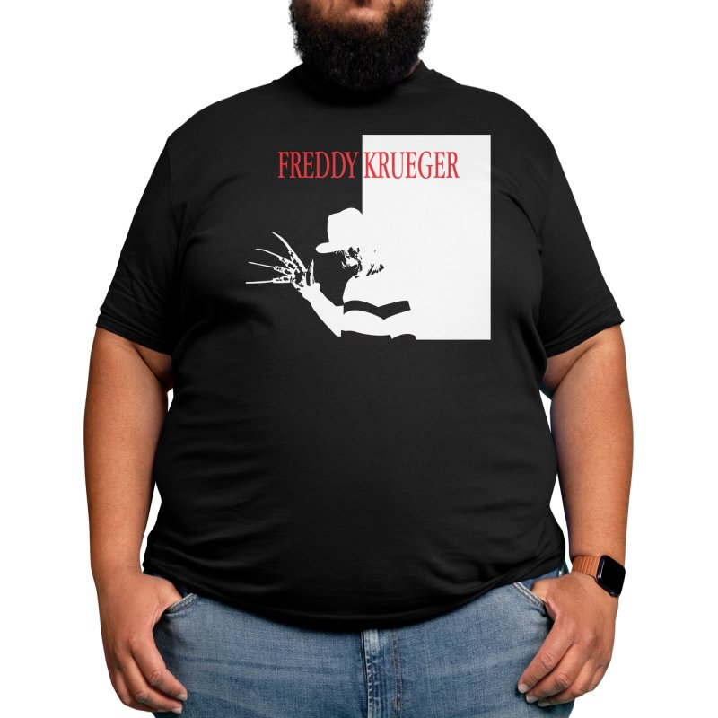 Freddy's Scarface Mashup Men's T-Shirt by oldtee's Artist Shop
