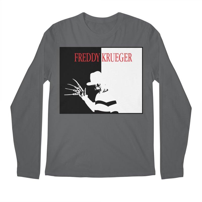 Freddy's Scarface Mashup Men's Longsleeve T-Shirt by oldtee's Artist Shop