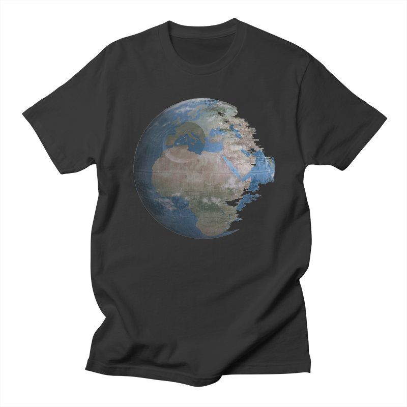 Death Earth Men's T-Shirt by oldtee's Artist Shop