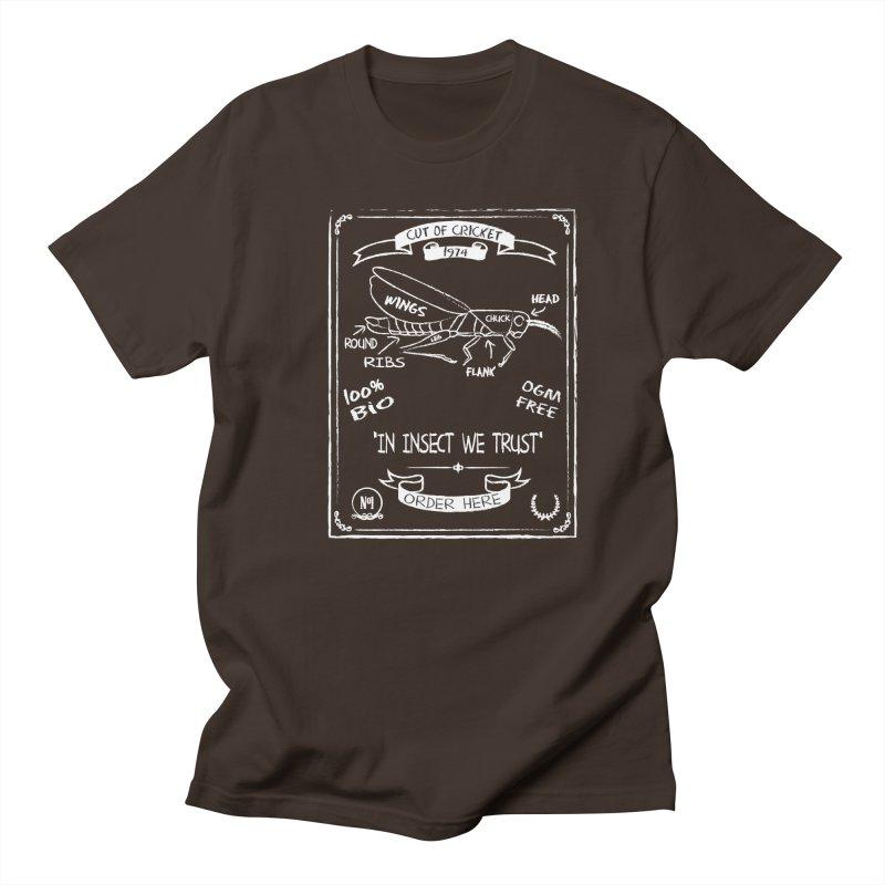 Cut Of Cricket Men's Regular T-Shirt by oldtee's Artist Shop