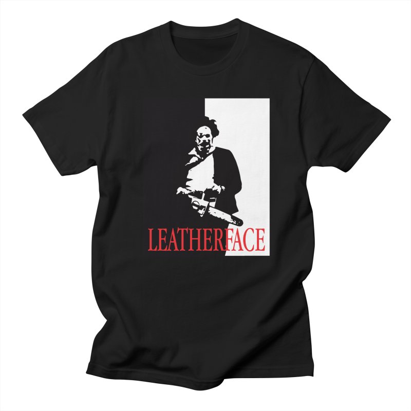 Leatherface Scarface Men's T-Shirt by oldtee's Artist Shop