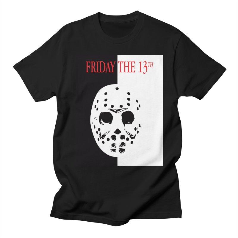 Jason Scarface Men's T-Shirt by oldtee's Artist Shop